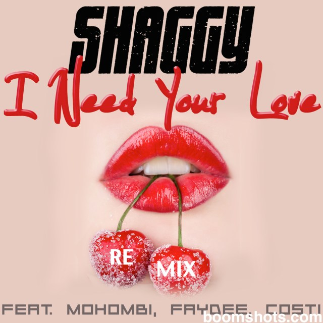 "HEAR THIS: Shaggy ""I Need Your Love"" Remix"