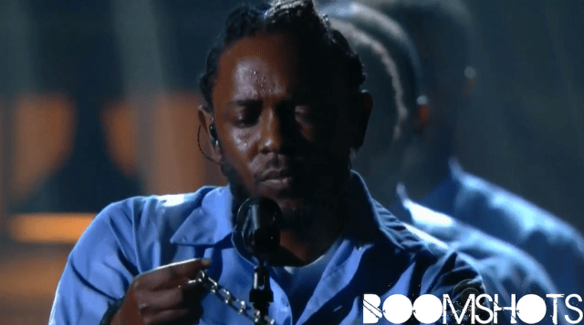 "WATCH THIS: Kendrick Lamar ft. the voice of Assassin ""The Blacker The Berry"" Live pon The Grammys"