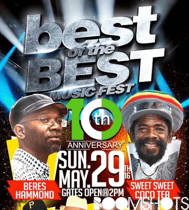 Beres Hammond & Cocoa Tea Headline 10th Annual Best of the Best Music Fest 2016
