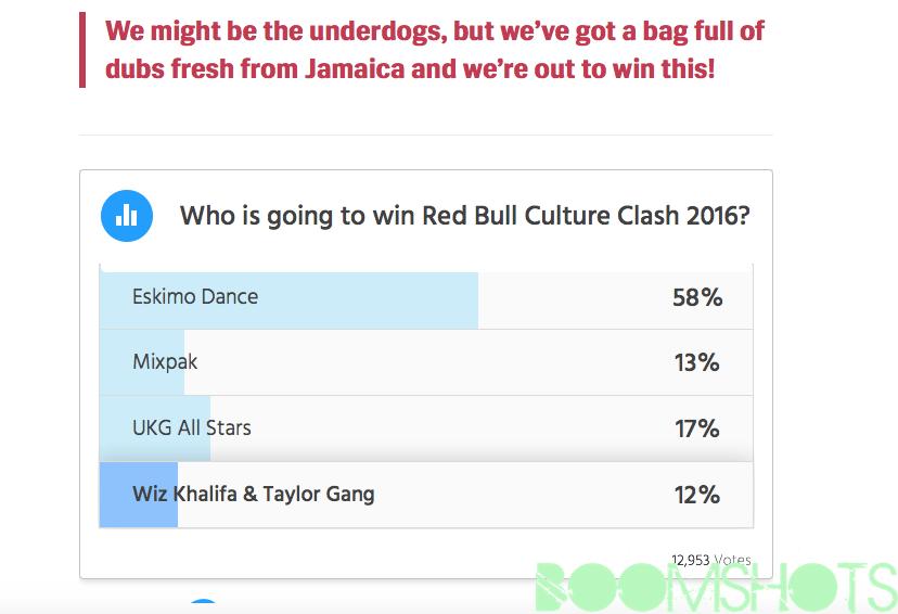 rb cuture clash poll