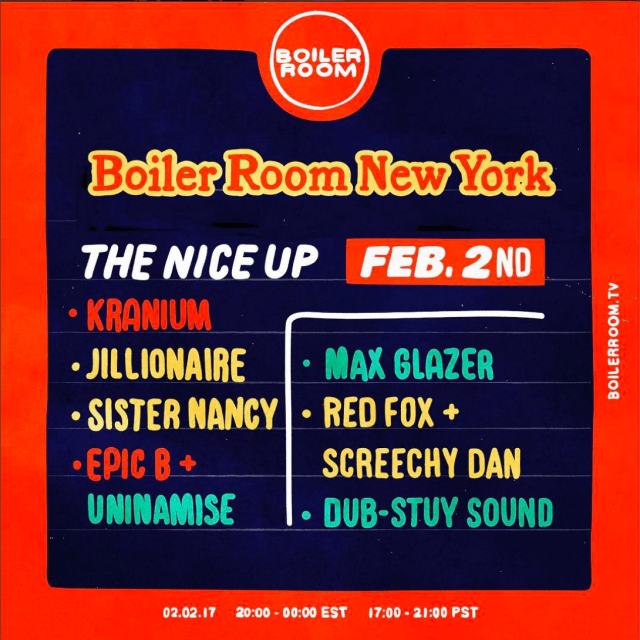 "Watch Boiler Room TV ""Nice Up"" NYC"