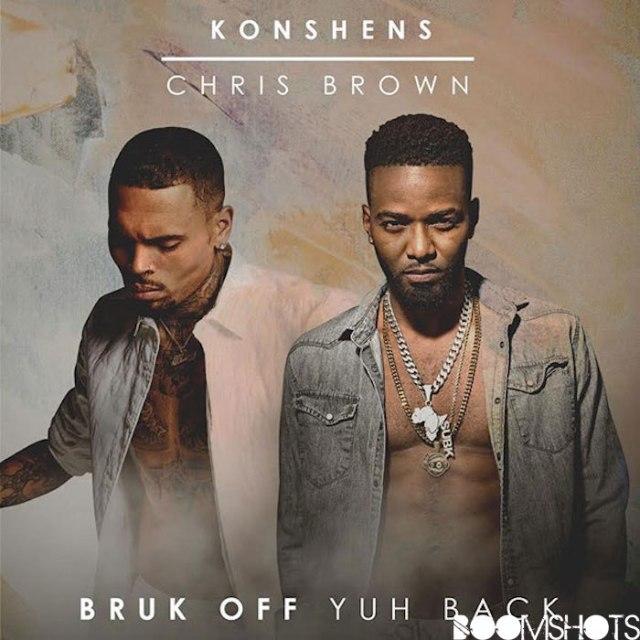 "HEAR THIS: Konshens ft. Chris Brown ""Bruk Off Yuh Back"" Remix"