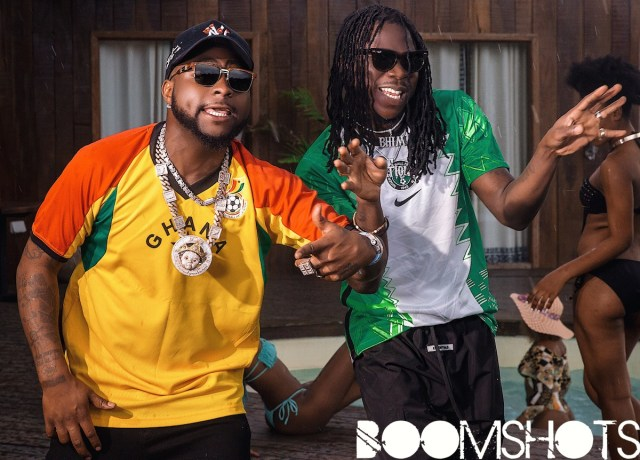 "WATCH THIS: Stonebwoy and Davido Connect In The ""ACTIVATE"" Music Video #PREMIERE"