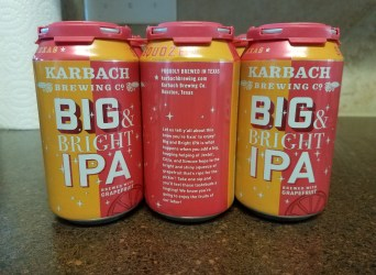 "Karback ""Big & Bright IPA"""