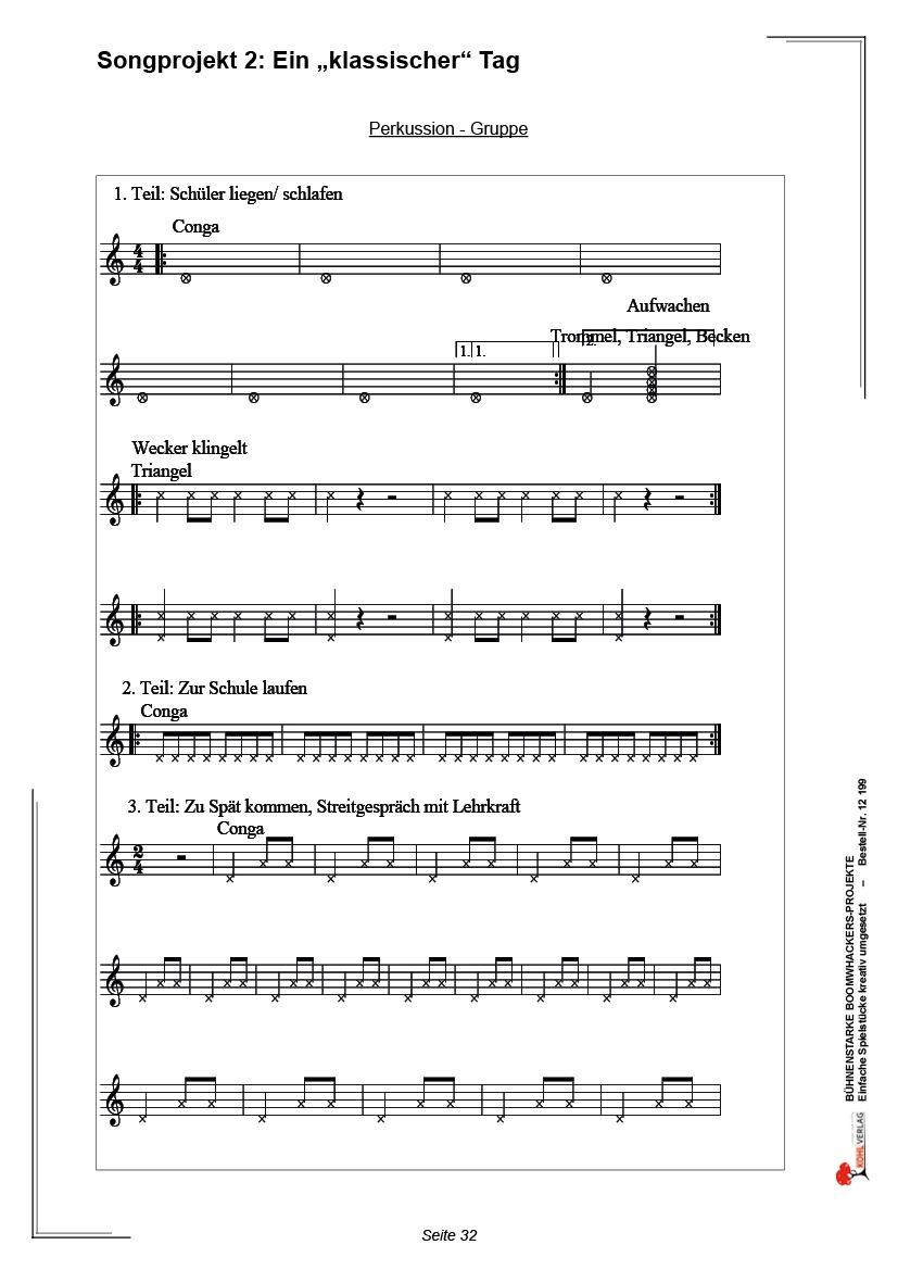 Bühnenstarke Boomwhacker-Projekte - Seite 32