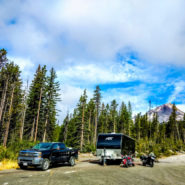 white river west sno-park camping