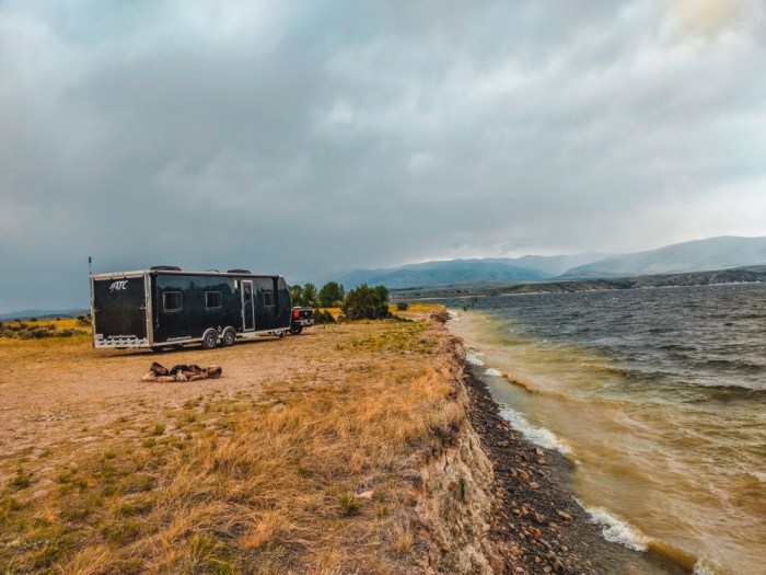 goose bay dispersed camping montana