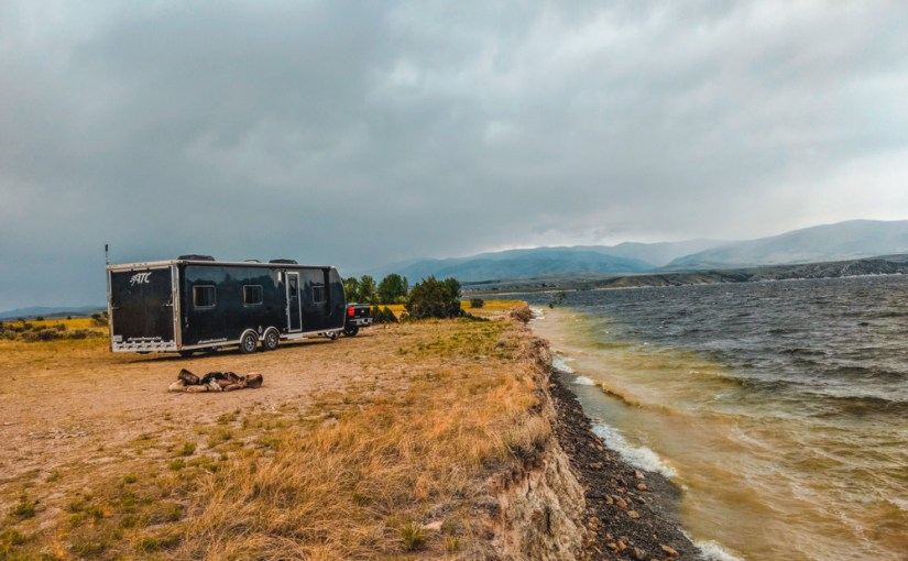 Goose Bay Dispersed Area, Canyon Ferry Lake, MT