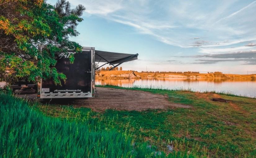 Sweet Briar Lake Camping, Bismarck, ND