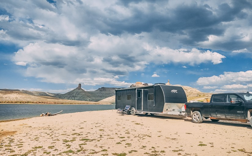 Firehole Canyon Beach, Flaming Gorge, WY