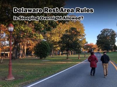 delaware rest area