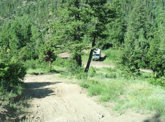 winiger ridge campground colorado