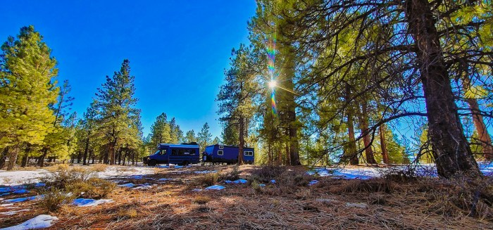 dispersed camping near bryce canyon national park