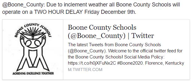 Boone County Ky Schools Employment
