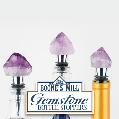 Gemstone Bottle Stoppers