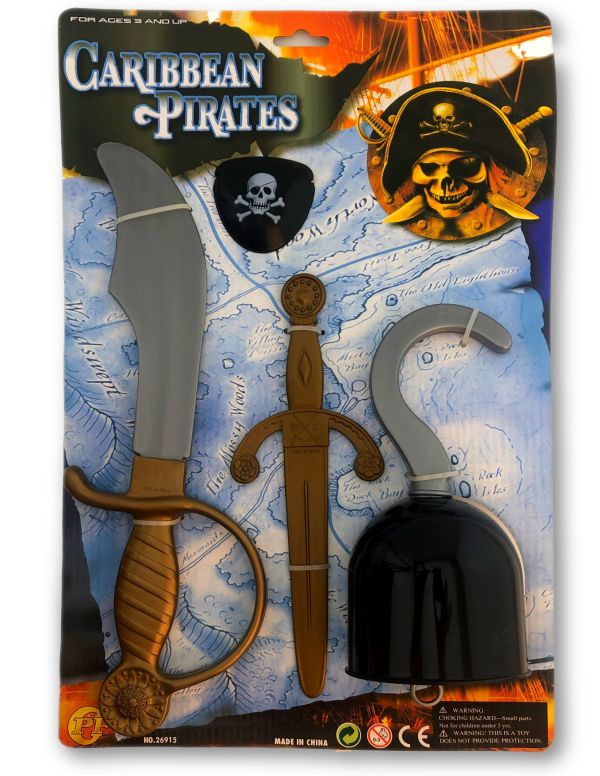Privateer Be a Pirate Accessory Kit
