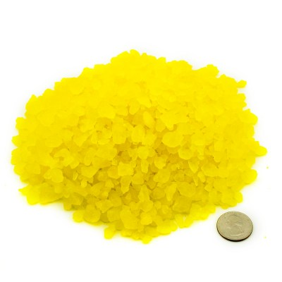 Yellow/Pineapple Rock Candy Crystals i