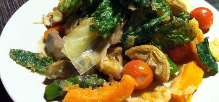 Textura de verdures