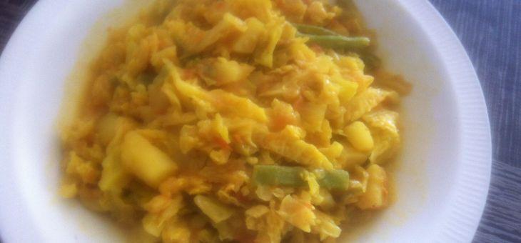 Curry de col