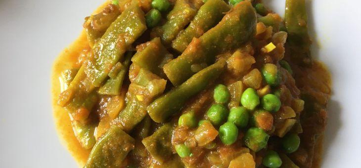 Mongeta verda especiada