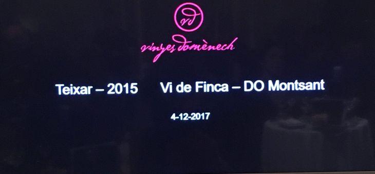 Teixar 2015, vi de Finca