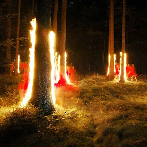 Amazing light drawings  BOOOOOOOM  CREATE  INSPIRE