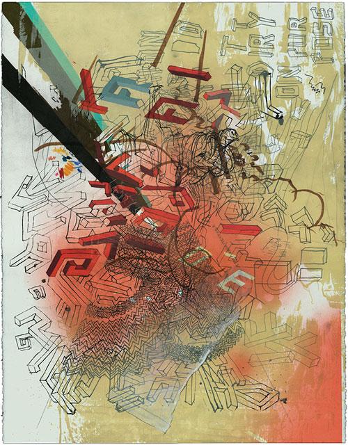 cody hoyt drawing sketch illustration letter type