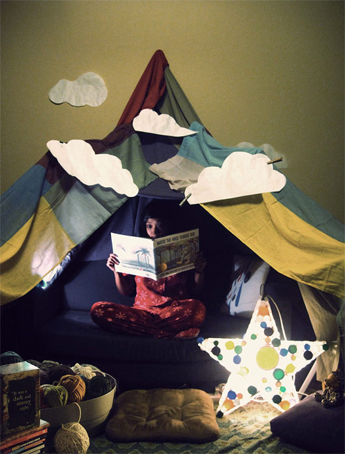 where the wild things are contest forts booooooom