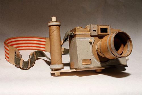 cardboard cameras by kiel johnson
