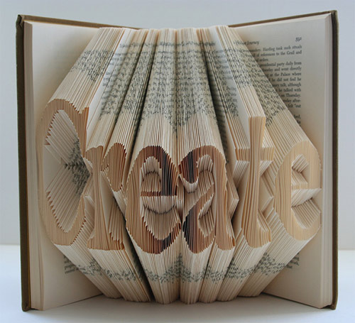 isaac salazar book art folded