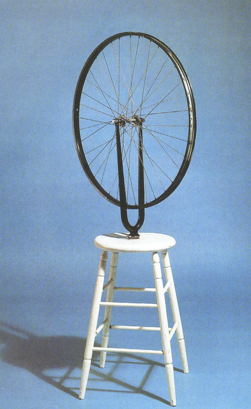 Bicycle Wheel - Marcel Duchamp