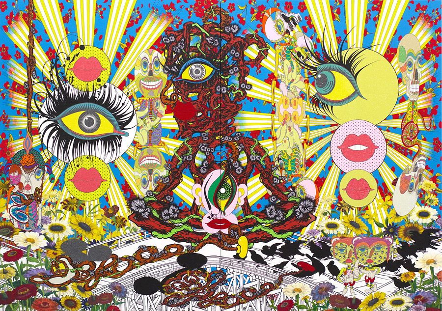 Psychedelic Paintings by Japanese Artist Keiichi Tanaami