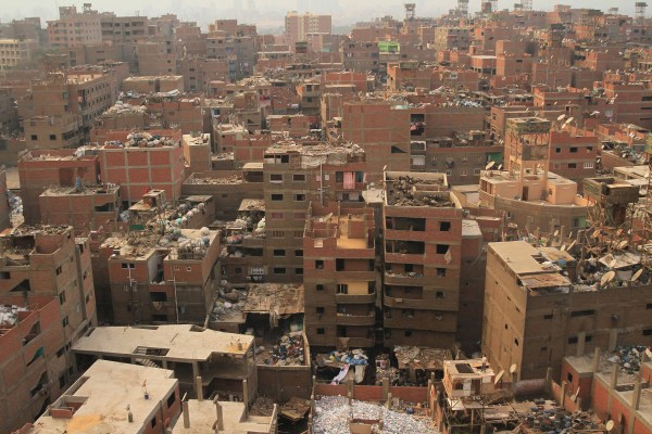 Massive Mural In Cairo Stretches Over 50 Buildings