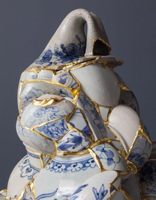 Broken Porcelain and Gold