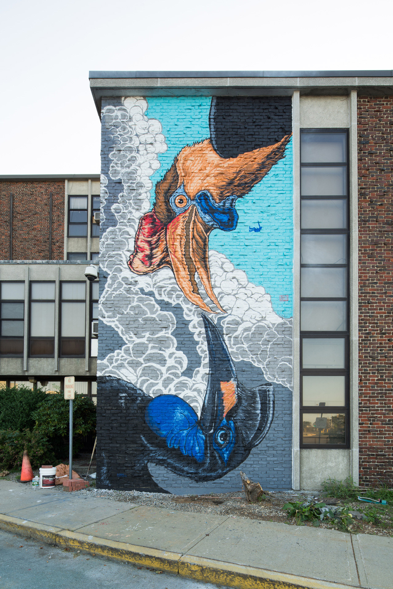 POW WOW Worcester Mural Recap  BOOOOOOOM  CREATE