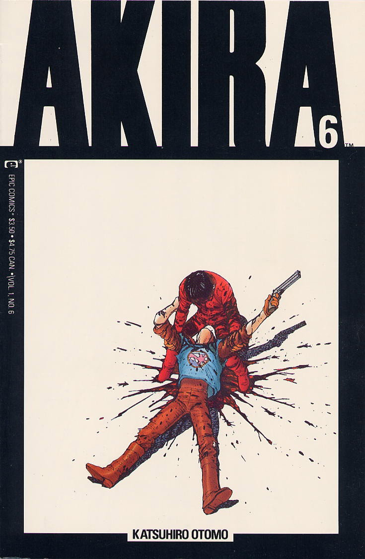 Akira Covers for Epic Comics  BOOOOOOOM  CREATE