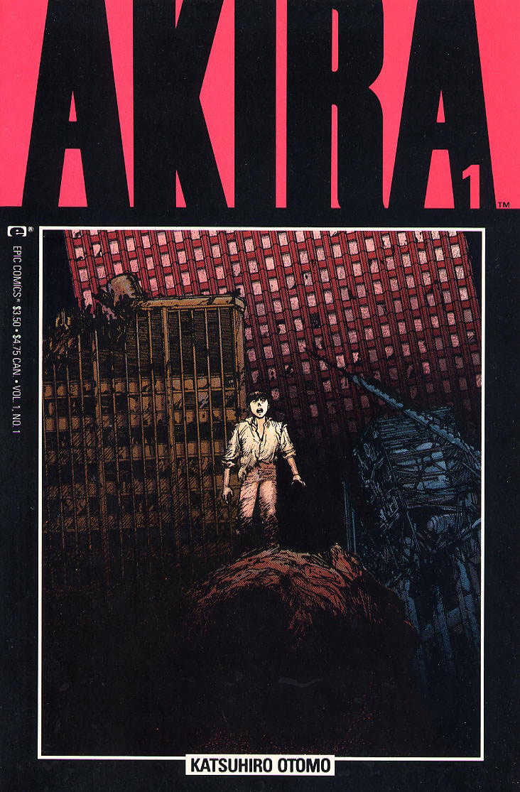 Akira Covers for Epic Comics  BOOOOOOOM  CREATE