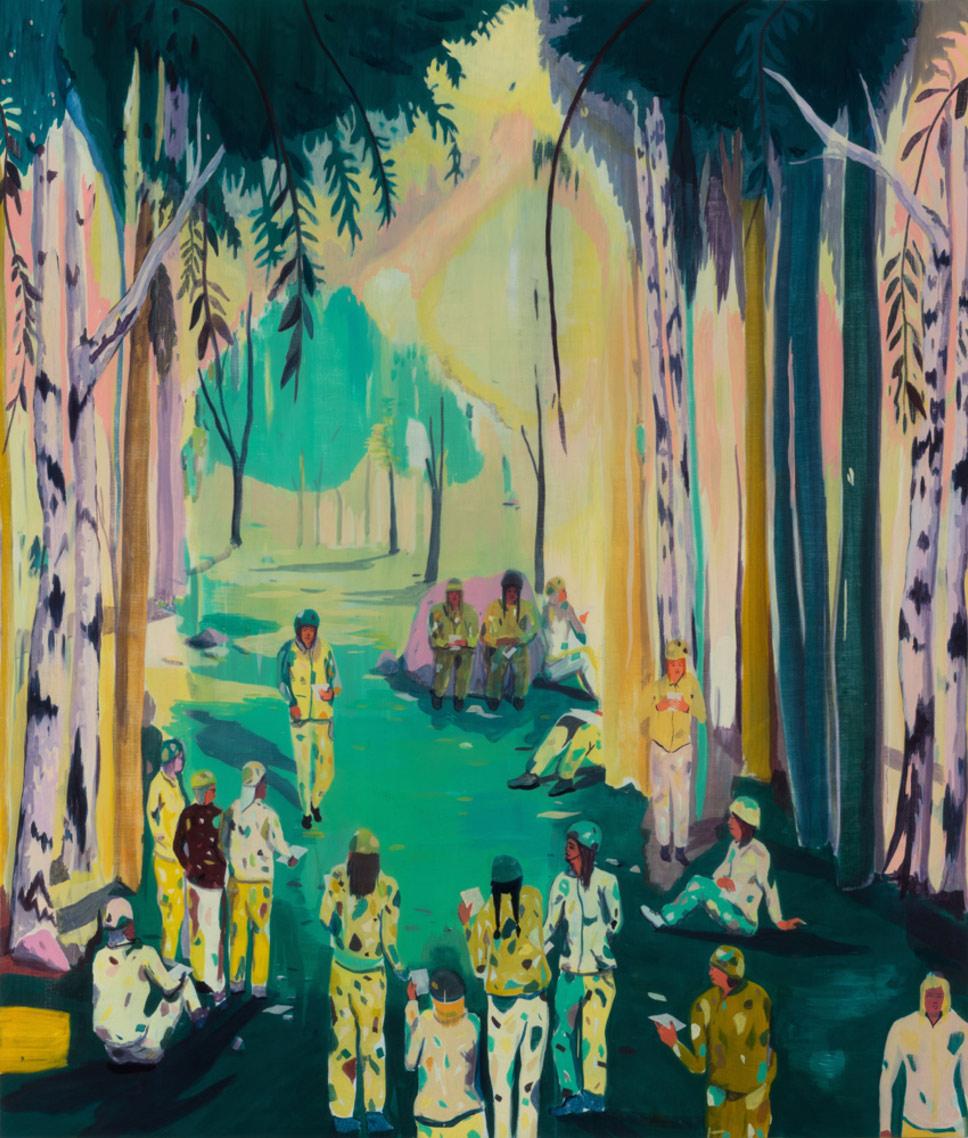 Artist Spotlight Jules de Balincourt  BOOOOOOOM  CREATE  INSPIRE  COMMUNITY  ART  DESIGN