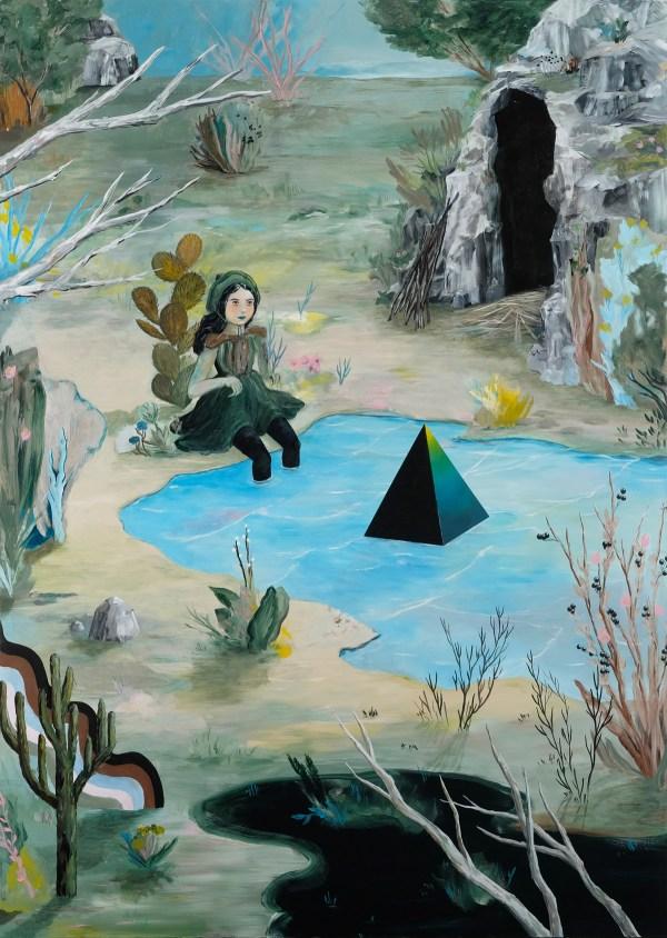 """cave Paintings"" Artist Rebecca Chaperon"