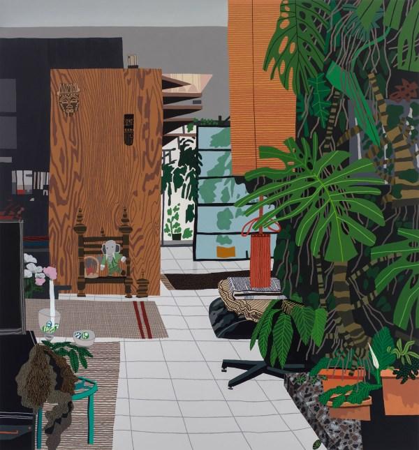 """interiors And Landscapes"" Artist Jonas Wood"