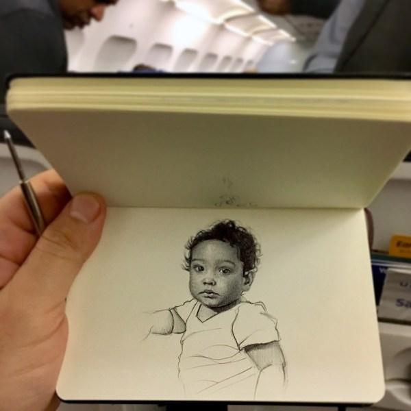 Incredible Ballpoint Pen Drawings Artist Nicolas