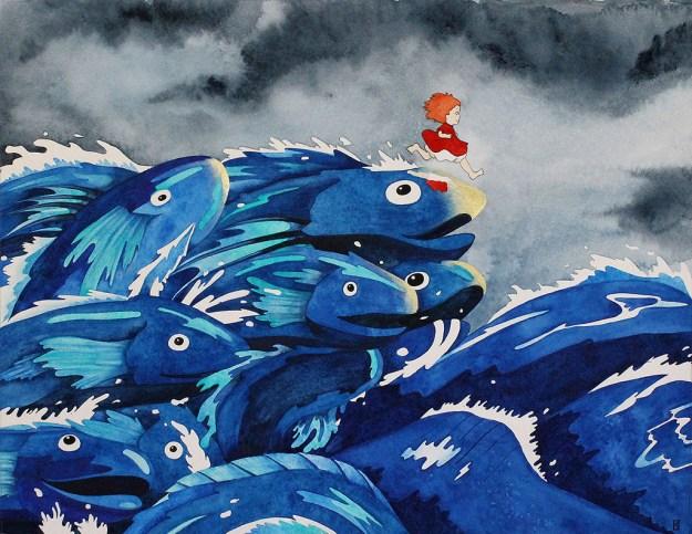 """Miyazaki10 Spoke Art's """"Miyazaki in Los Angeles"""" Art Design"""