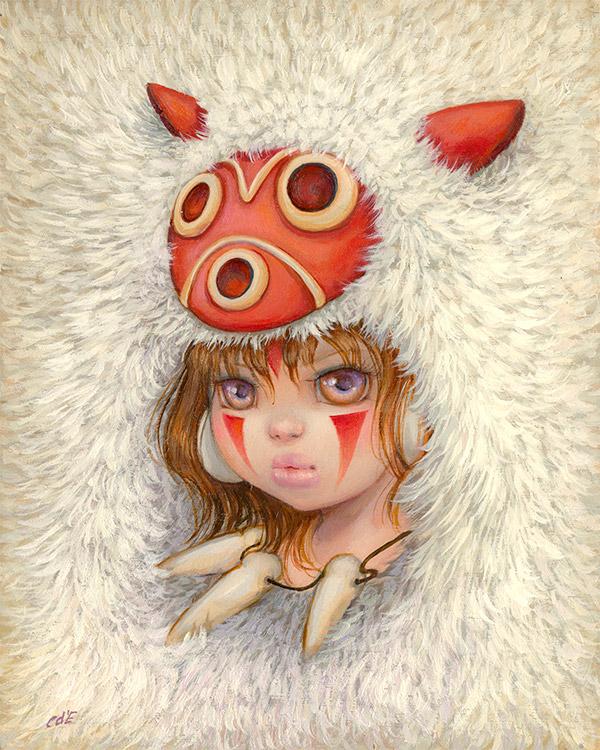 """Miyazaki3 Spoke Art's """"Miyazaki in Los Angeles"""" Art Design"""