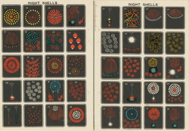 Hirayama6 Jinta Hirayama's Classic Fireworks Illustrations Available for Free Design