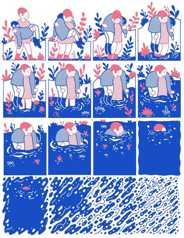 "Cohen2 ""Reflect"" by Illustrator Evan M. Cohen Design"