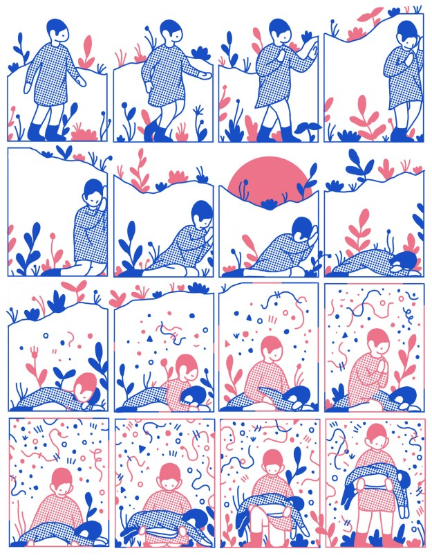 "Cohen4 ""Reflect"" by Illustrator Evan M. Cohen Design"