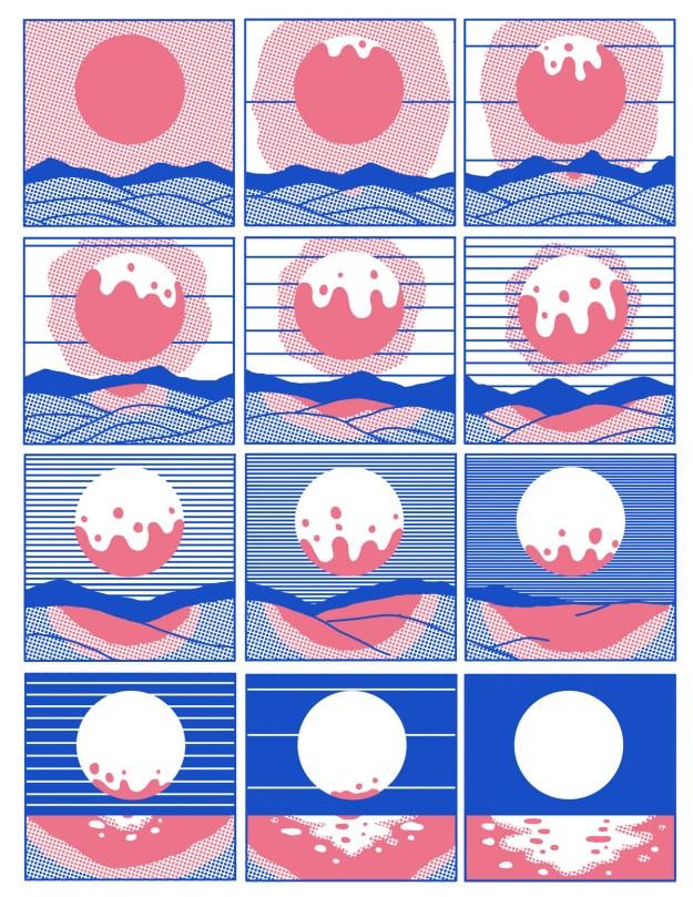 "Cohen8 ""Reflect"" by Illustrator Evan M. Cohen Design"