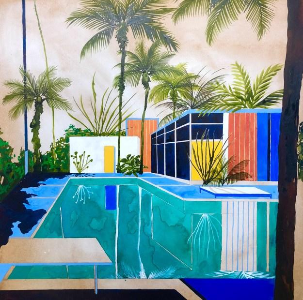 "Keates6 ""The Kennedy Trip"" by Artist Charlotte Keates Design"
