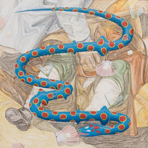 """Pigott9 """"Slippery Gaze"""" by Artist Tristan Pigott Art Design"""