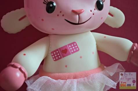 Doc McStuffins Spotty Lambie Playset - Lambie plaster